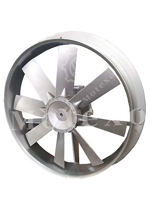 axial fan wall mounted high temperature