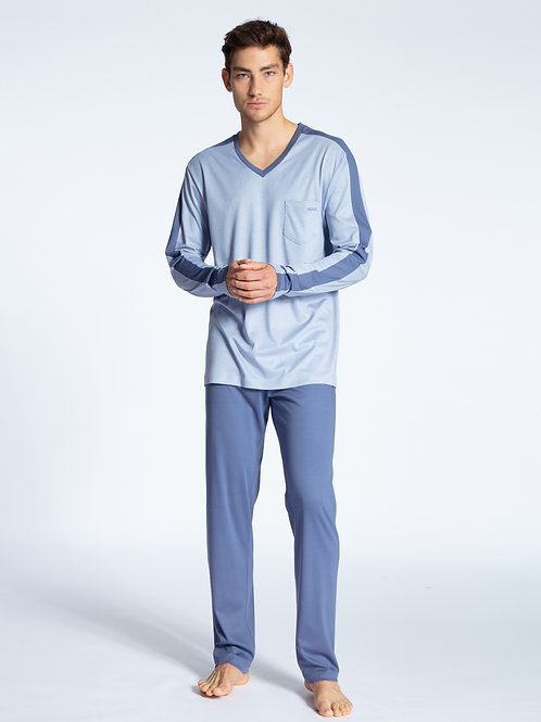 CALIDA FUNCTION SENSE COTTON PAJAMAS SET 47468