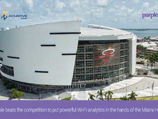 Wi-Fi Analytics של Purple ב American Airlines Arena