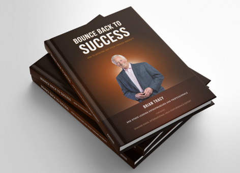 Cover Design:Bounce back to success brian tracy