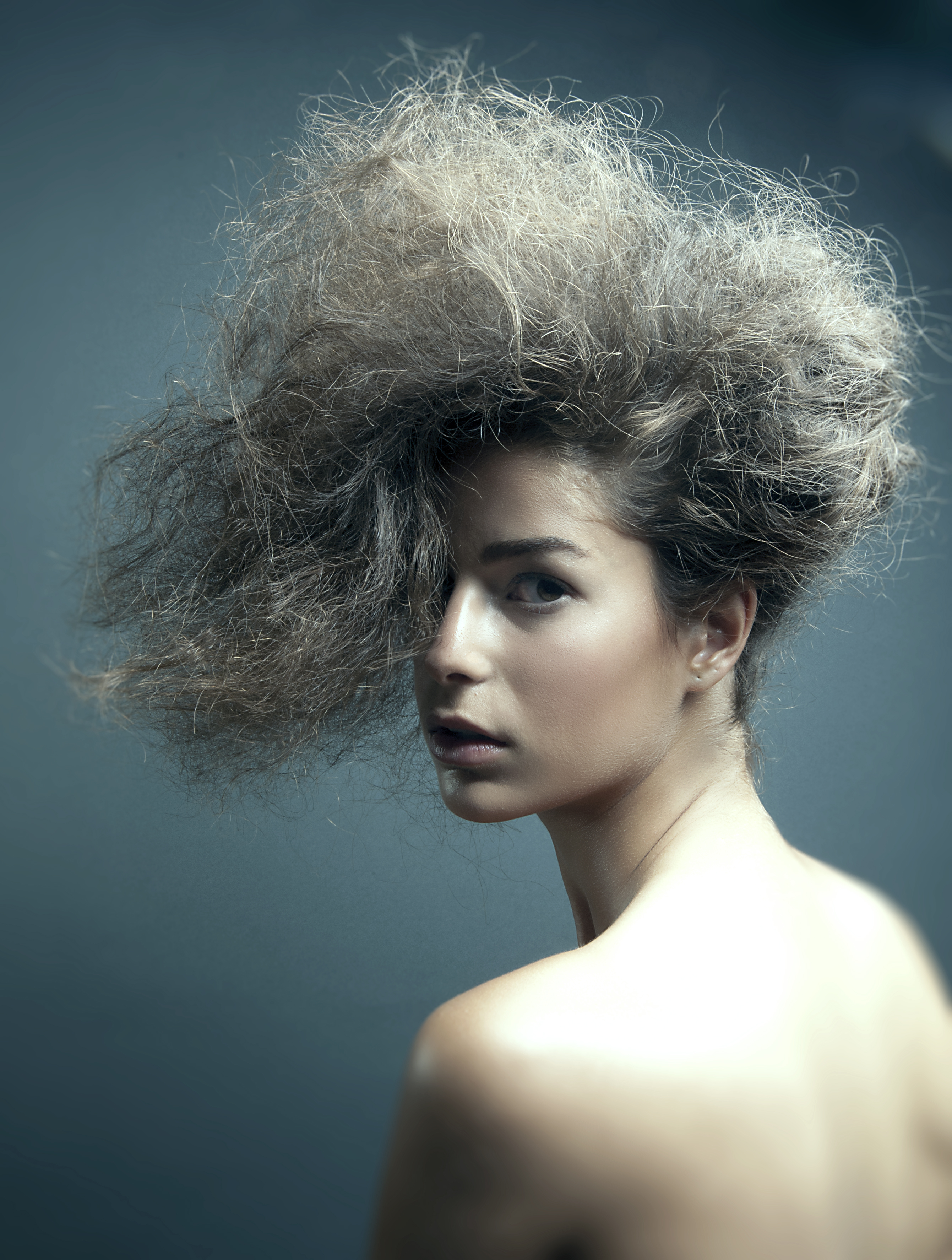 Fashion Hairstyle Photography