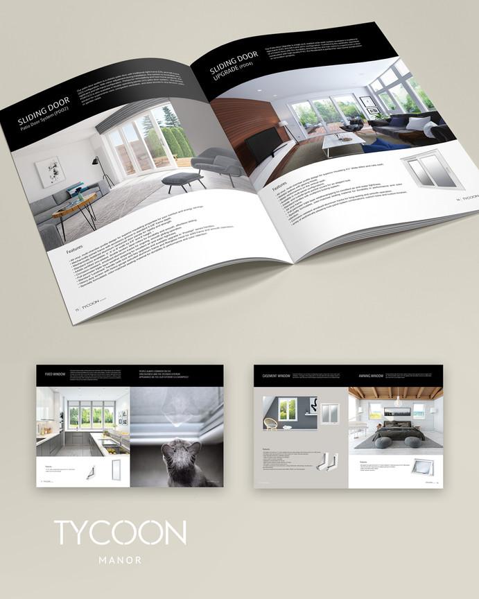 catalogue design, Tycoon