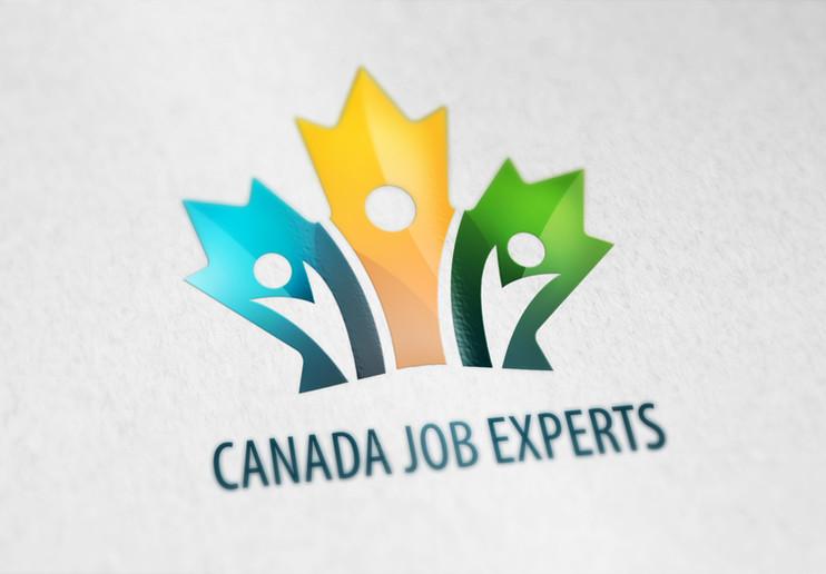 Logo design, Canada Job Expert