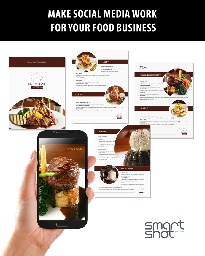 Marketing package for food industries