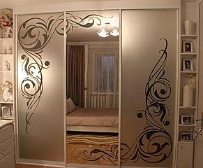 Зеркало и пескоструйный рисунок