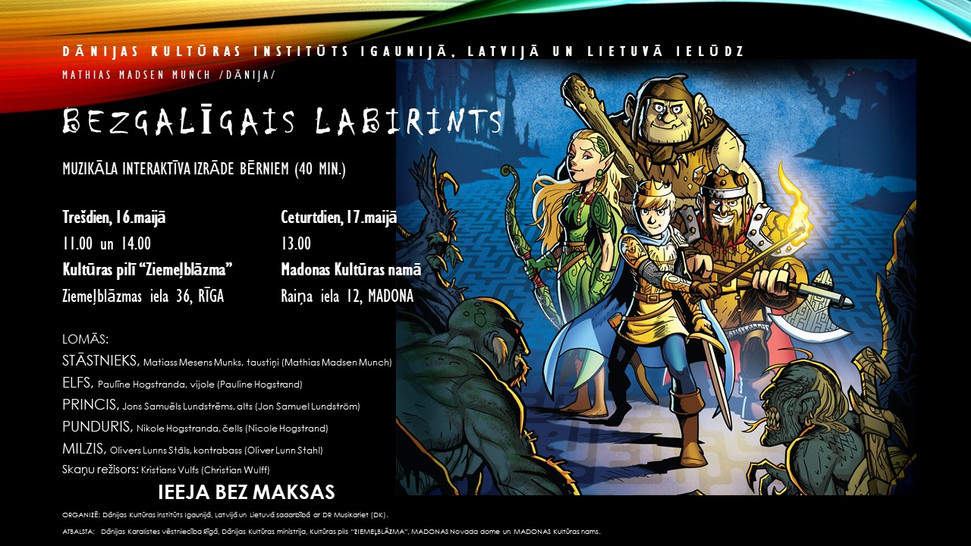 The Endless Labyrinth on tour in Latvia