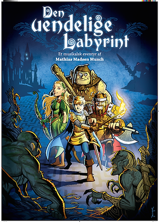 Den Uendelige Labyrint - plakat