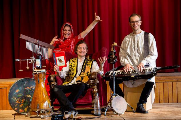 Skamby, Elfving og Munch - ensemblet i Münchhausen
