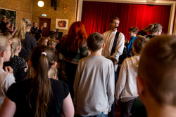 Dans blandt publikum
