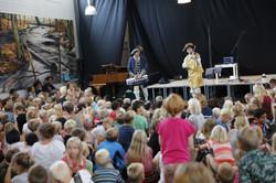 Mere end 600 børn per koncert