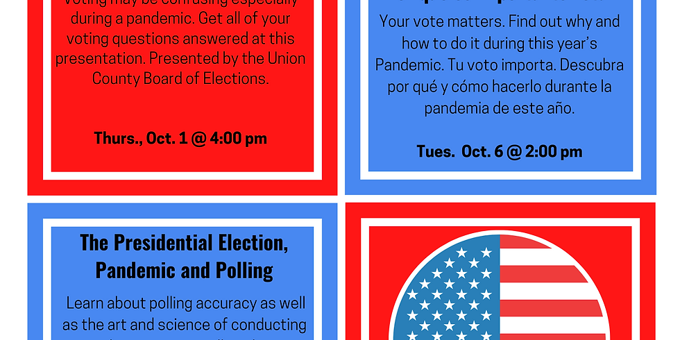 Voting in the Pandemic/History of NAACP - Virtual Public Programs
