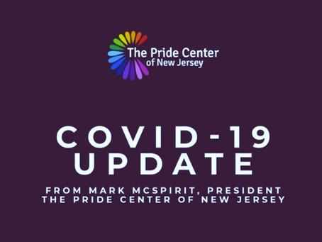 COVID-19 Center Update