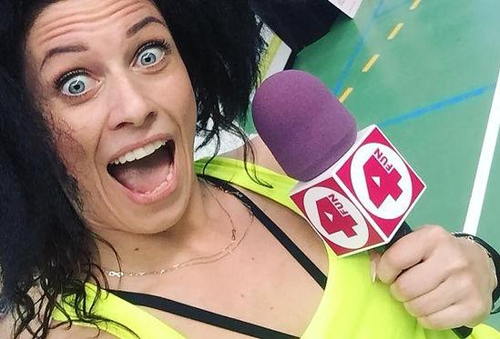 Just Jump Fitness Warszawa i Agneszka Szaniawska świętuje 3 urodziny klubu Just Jump Fitness relacja z wydażenia w telewizji 4 fun TV