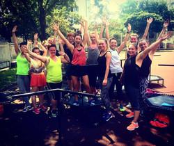 trampoliny na powietrzu