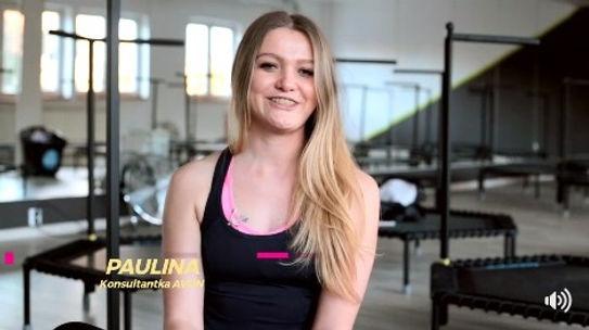 Just Jump Fitness Warszawa i Paulina Kozak w telewizji 4 fun TV w kampanii dla firmy AVON opowiada o swojej pracy i zajęciach fitness na trampolinach