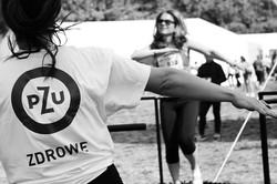 just jump fitness na maratonie dla PZU MARATON WARSZAWSKI