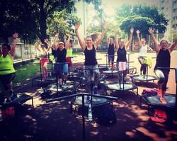 Fitness na trampolinach Warszawa