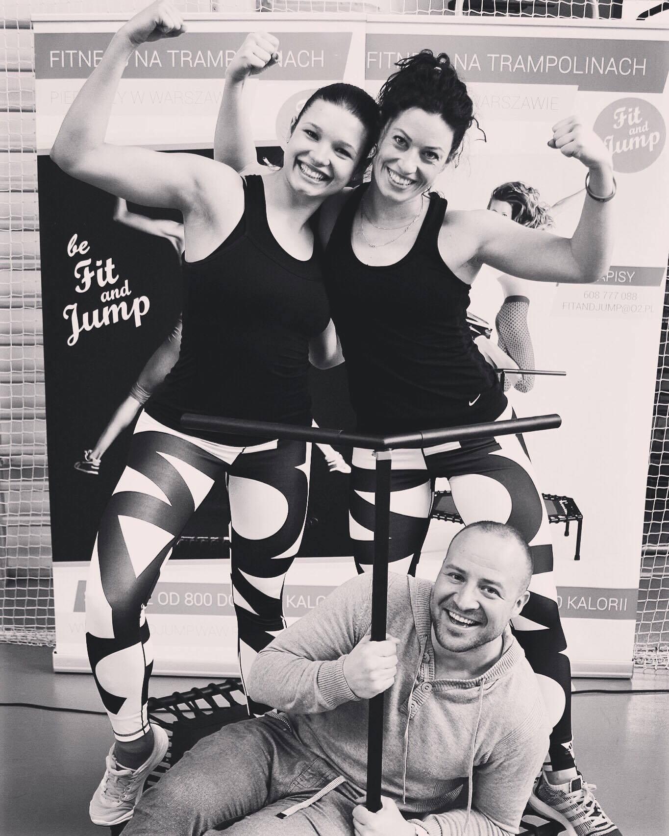 Instruktorki Just Jump Fitness