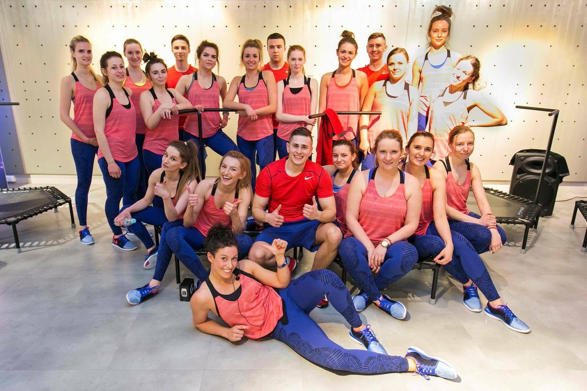 just jump fitness Agnieszka Szaniawska TRENING DLA NIKE POLSKA
