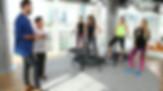 Just Jump Fitness Warszawa i Agnieszka Szaniawska instruktor fitness w programie Dzień Dobry TVN czyli DDTVN wraz z Dorotą Welman i Marcinem Prokopem. Agnieszka opowiada i prezentuje zajęcia fitness na trampolinach