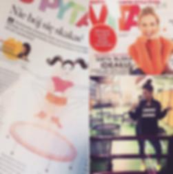 Magazyn Vita a w środku gazet Agnieszka Szaniawska instruktor fitness z JustJump Fitness Warszawa opowiado o prowadzonych przez siebie zajęciach fitness na trampolinach