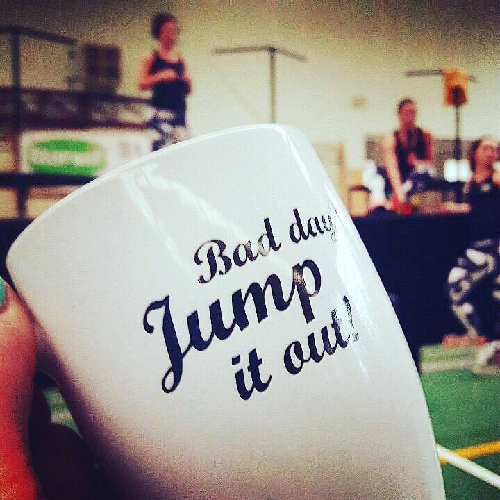 Kubek motywacyjny Just Jump Fitness