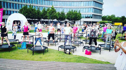 just jump fitness Agnieszka Szaniawska i Trening na 17 URODZINY SHAPE