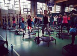 50 trampolin Just Jump Fitness