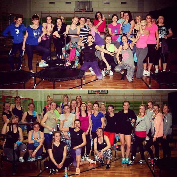 fitness na trampolinach Tagrówek