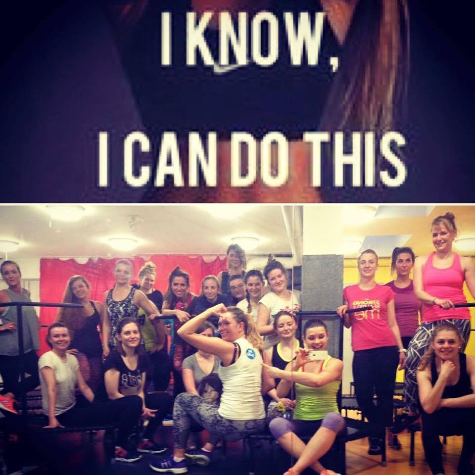Motywacja w Just Jump Fitness