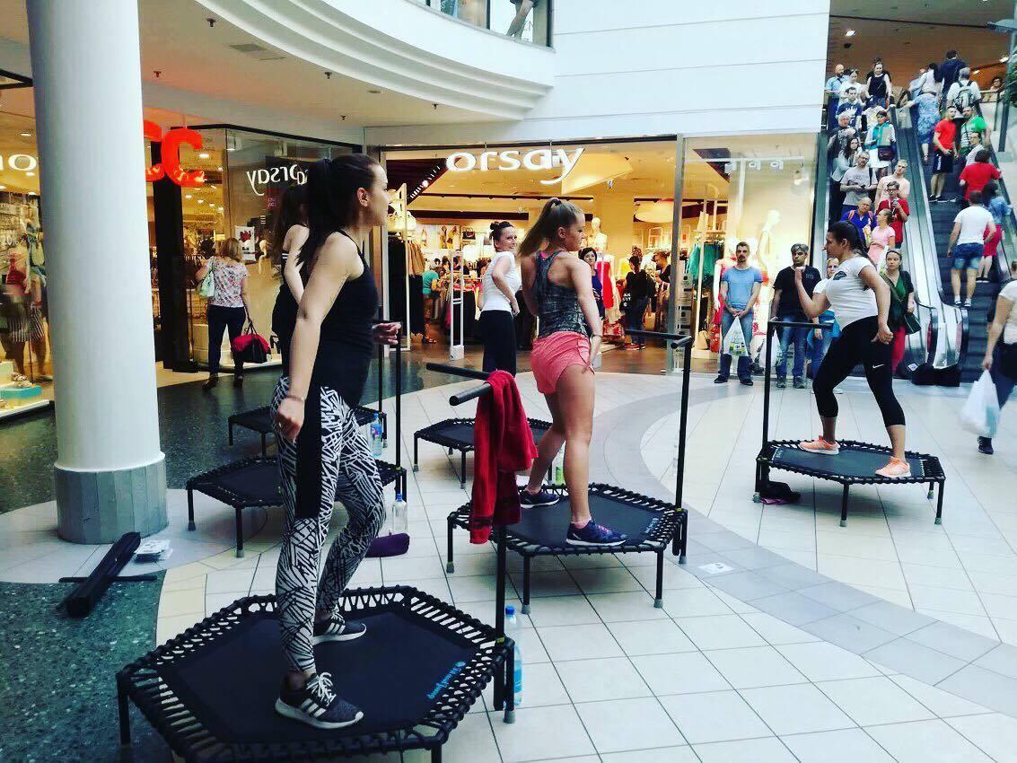 Just Jump Fitness w Galeria Wileńska