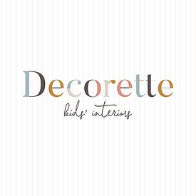 Decorette_Logo_Stripe Background with Ta