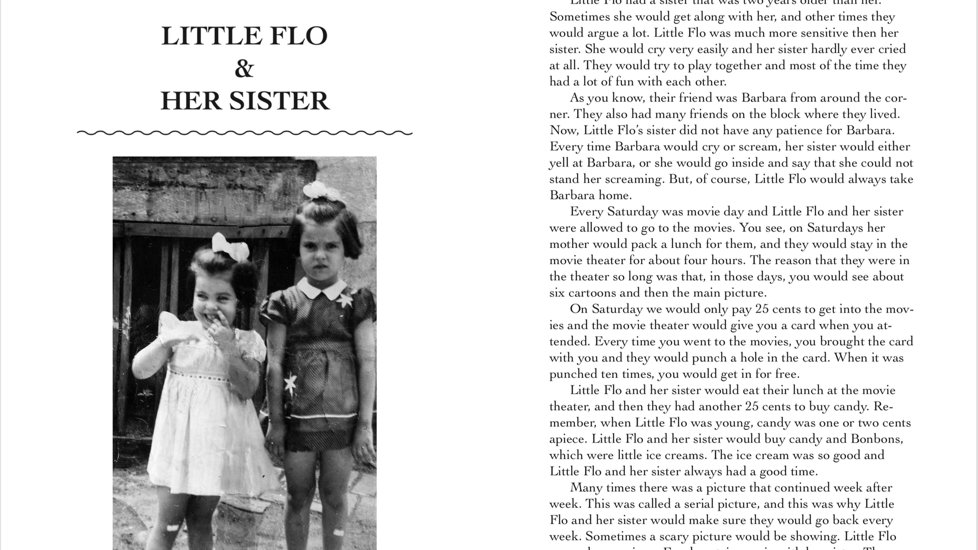 The Adventures of Little Flo