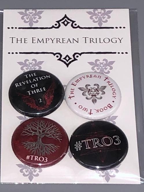 THE REVELATION OF THREE Pin Pack