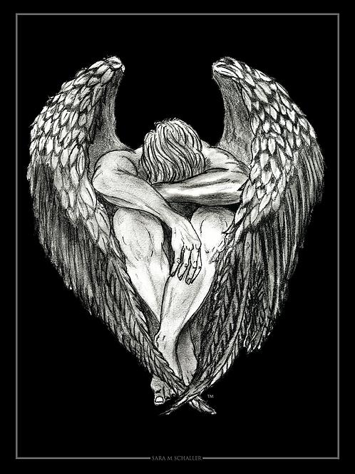 5 x 7 Angel Print