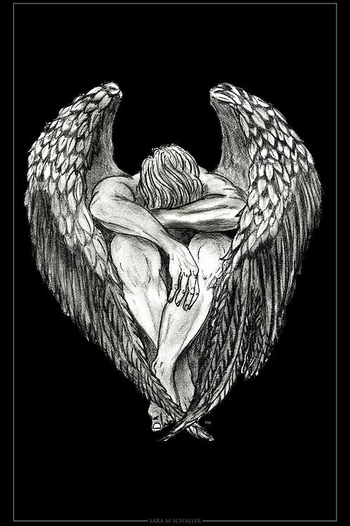 11 x 17 Angel Print