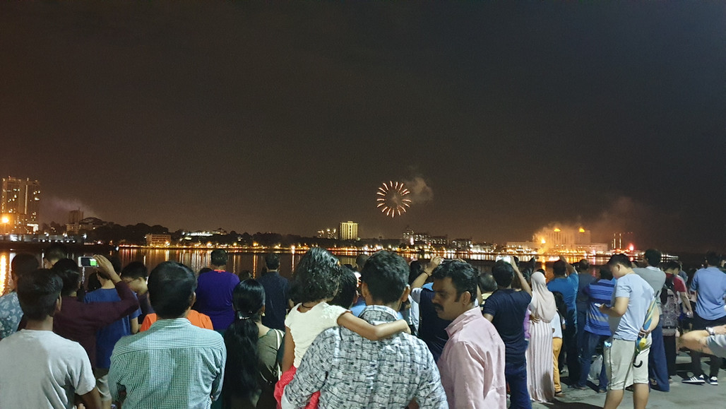 New Year Countdown Event at Waterfront Outlet