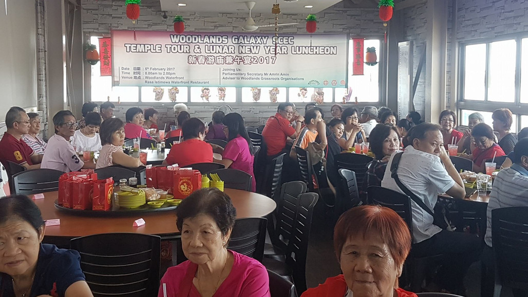Woodlands Galaxy SCEC Temple Tour and New Year Lunch (2)