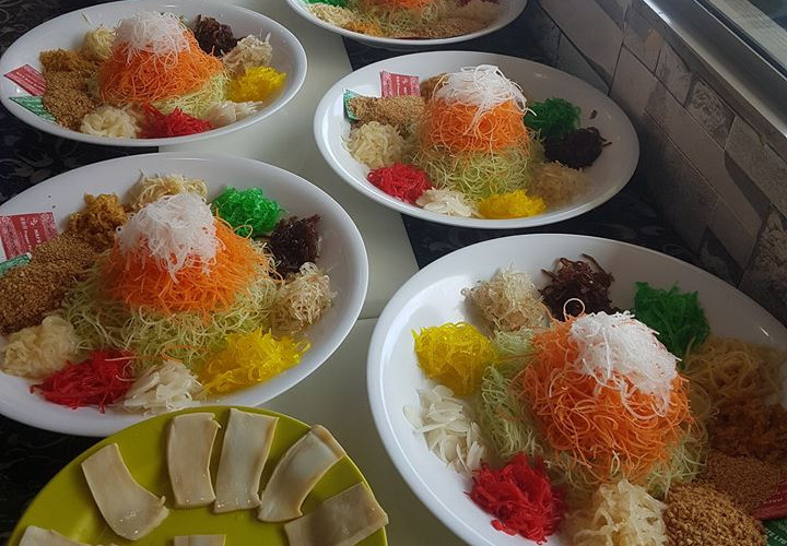 Yee Sang for Woodlands Galaxy SCEC Temple Tour and New Year Lunch (3)