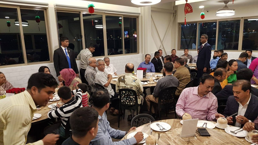 Dinner Event at Waterfront Outlet with President and First Lady of Bangladesh