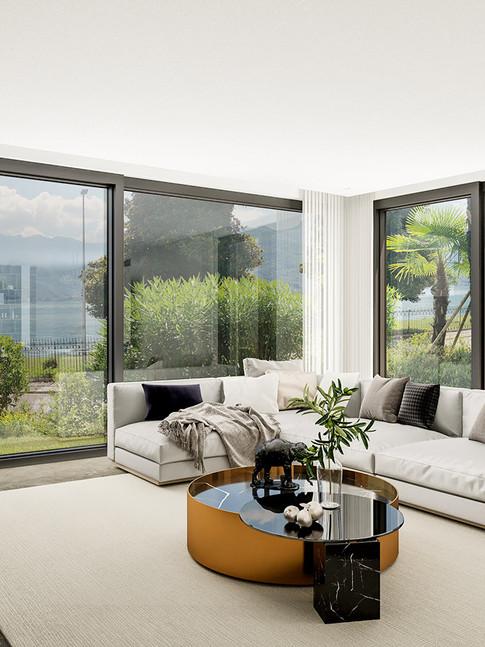 Modern Lake Apartment
