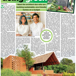 Going green duo- we are featured on Deccon chronicles