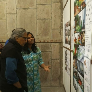 unTAG's work exhibited at DoshiWeKnow 2019 at ATMA, Ahmedabad