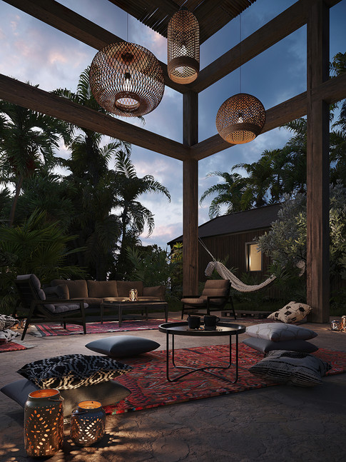 Outdoor Lounge Space