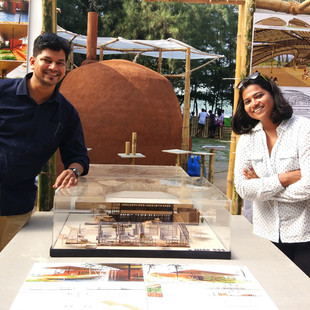 unTAG's proposal for Barefoot School of Art&Craft exhibited at Serendipity Art Festival 2018, Goa