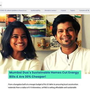 unTAG featured on 'The Better India'