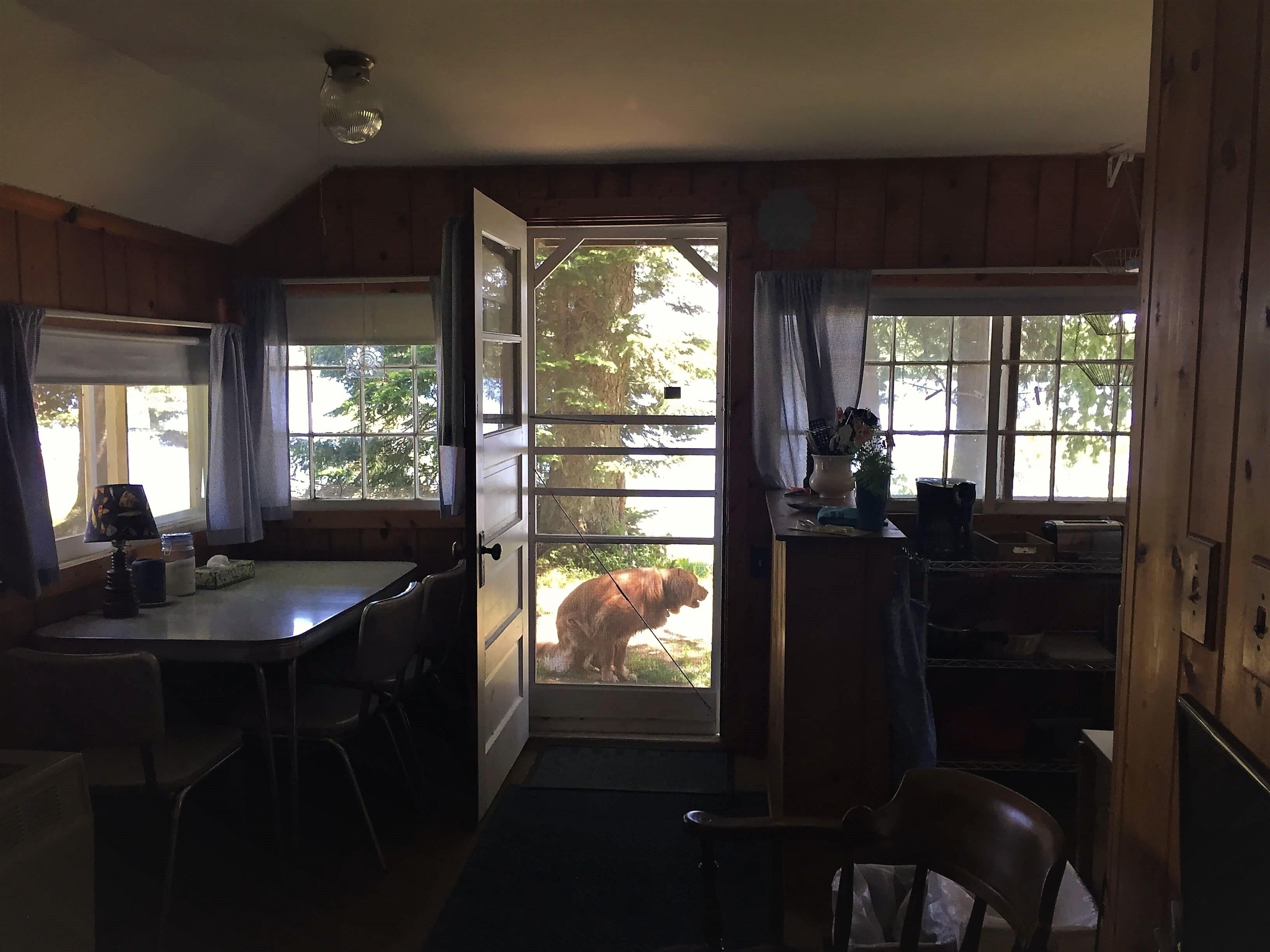 lake cabin rental wi
