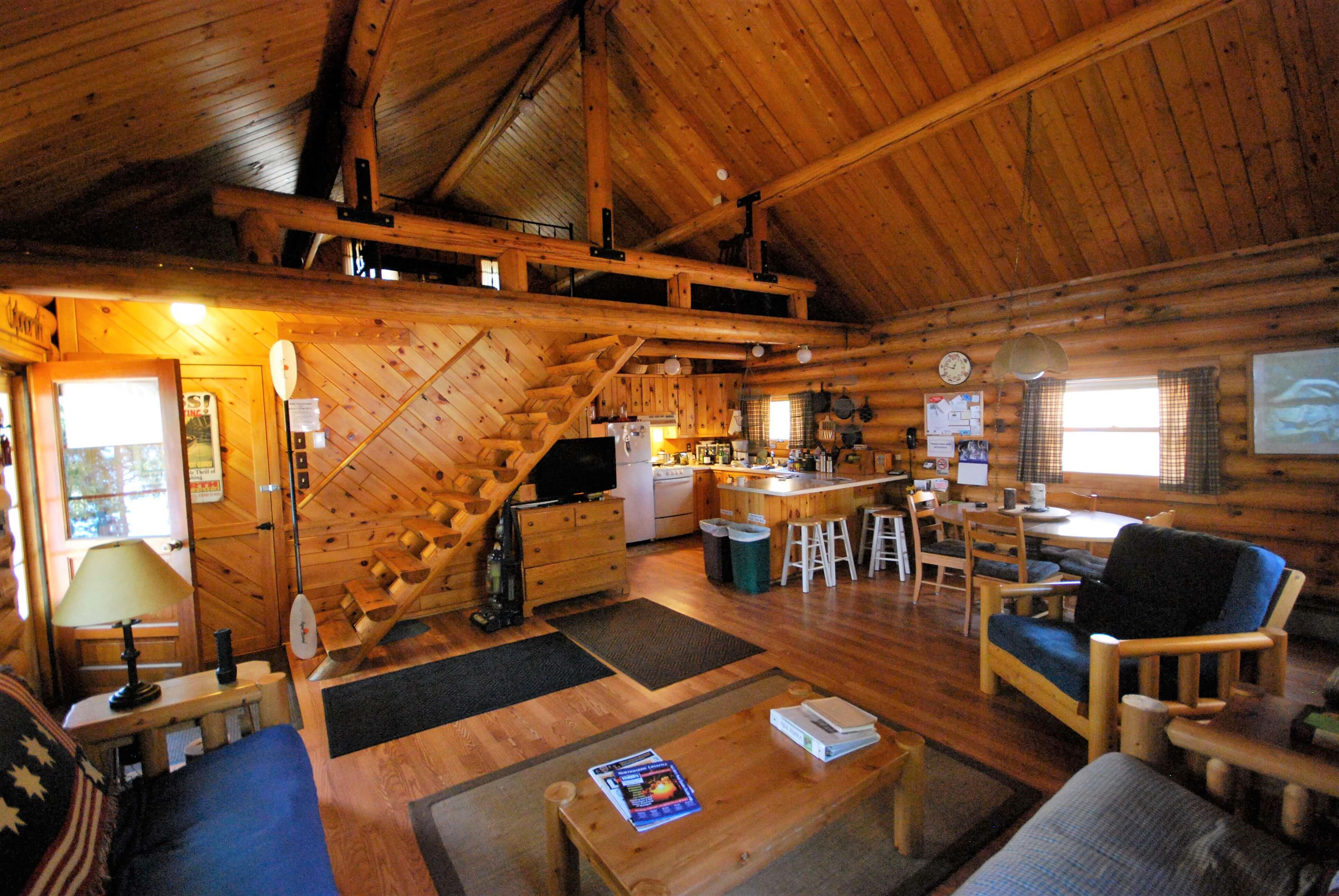 cabin rentals wisconsin lakefront