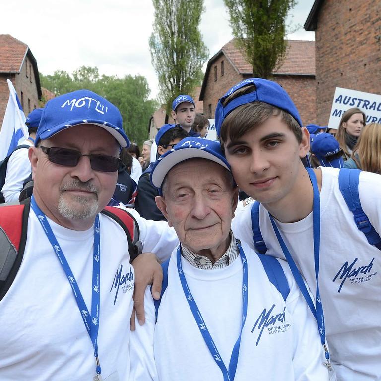 Three Generations of Holocaust Memory - The Life and Legacy of Abe (Abram) Goldberg OAM