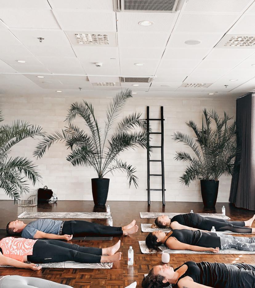 Yoga och Frukost Event på Clarion Stockholm
